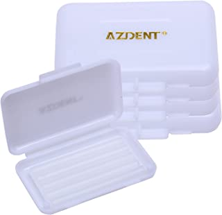 AZDENT Unscented Dental Wax for Braces Teeth Orthodontic Waxes Pack of 5