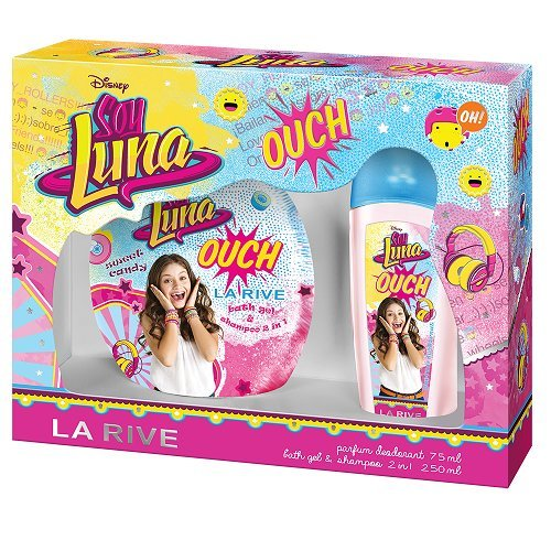 DISNEY - SOY LUNA OUCH - GESCHENKSET Parfum Deodorant 75 ml und Duschgel 2in1 250 ml