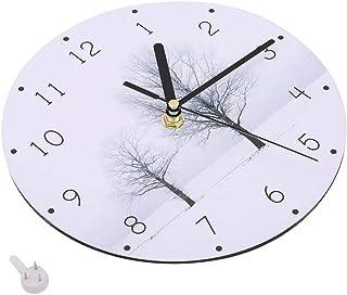 ساعة حائط ، ساعة حائط DIY ساعة حائط حديثة ، لغرفة النوم وغرفة المعيشة (مشهد (رقم 4))