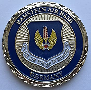 Challenge Coin Ramstein Air Base USAF in Europe