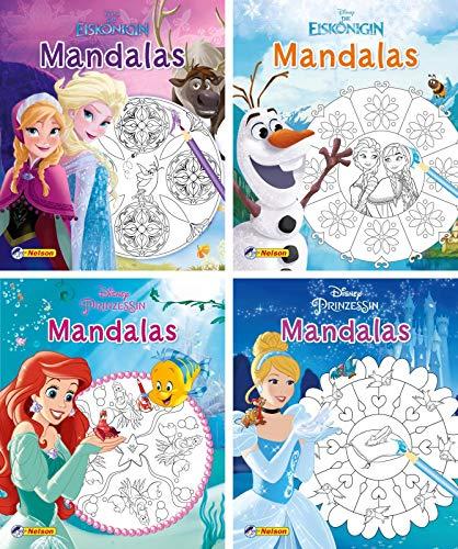 Nelson Mini-Bücher: Disney Mandalas 1-4 (Einzel/WWS)