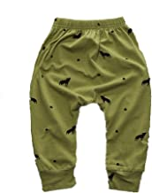 WINZIK Newborn Infant Baby Boys Girls Outfits Pattern Harem Pants Children Trousers