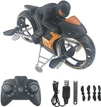 KOPOU Land & Air Dual-in-One Afstandsbediening Motorfiets Vliegtuigen, Speelgoed voor Racing en Flying GamesSmart Afstands...