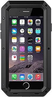 電子アクセサリーFor iphone X XS Max 8 7 6 6S Plus 5 5S SE防水PC + TPU 3層ハイブリッド完全保護ケース電話シェル,For iphone 5 5S SE,Black
