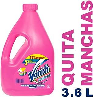 Vanish Quitamanchas Líquido, color Rosa, 3600 ml