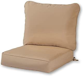 Greendale Home Fashions Deep Seat Cushion Set, Stone