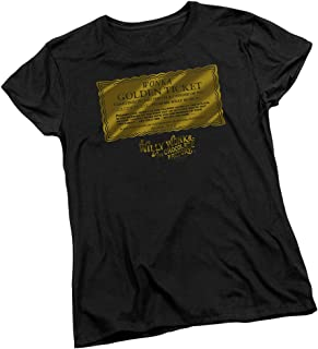 Golden Ticket - Willy Wonka and The. Women's T-Shirt