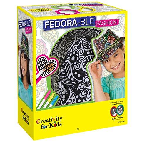 Creativity for Kids - Cfk1264 - Fedora-ble Fashion - Chapeau À Décorer