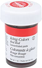 Wilton 610-906 Icing Gel, 1-Ounce, Red-Red