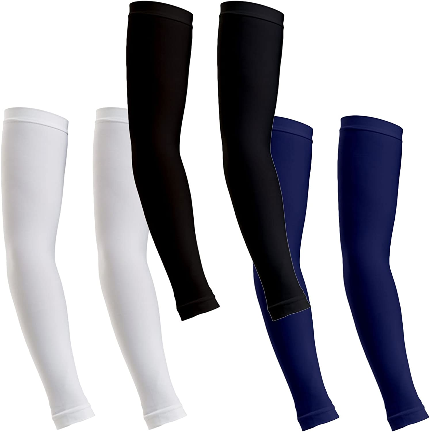 ReLive Women's Microfiber Stretchy Arm Sleeves (1 Pair)