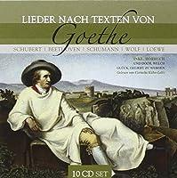 Lieder Nach Texten von Goethe 10 CD Set (plus Audio Book)