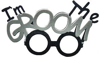 Amosfun Hen Night Party I'm The Groom Gafas Gafas Hen Night Party Accesorios Novedad Disfraces Gafas