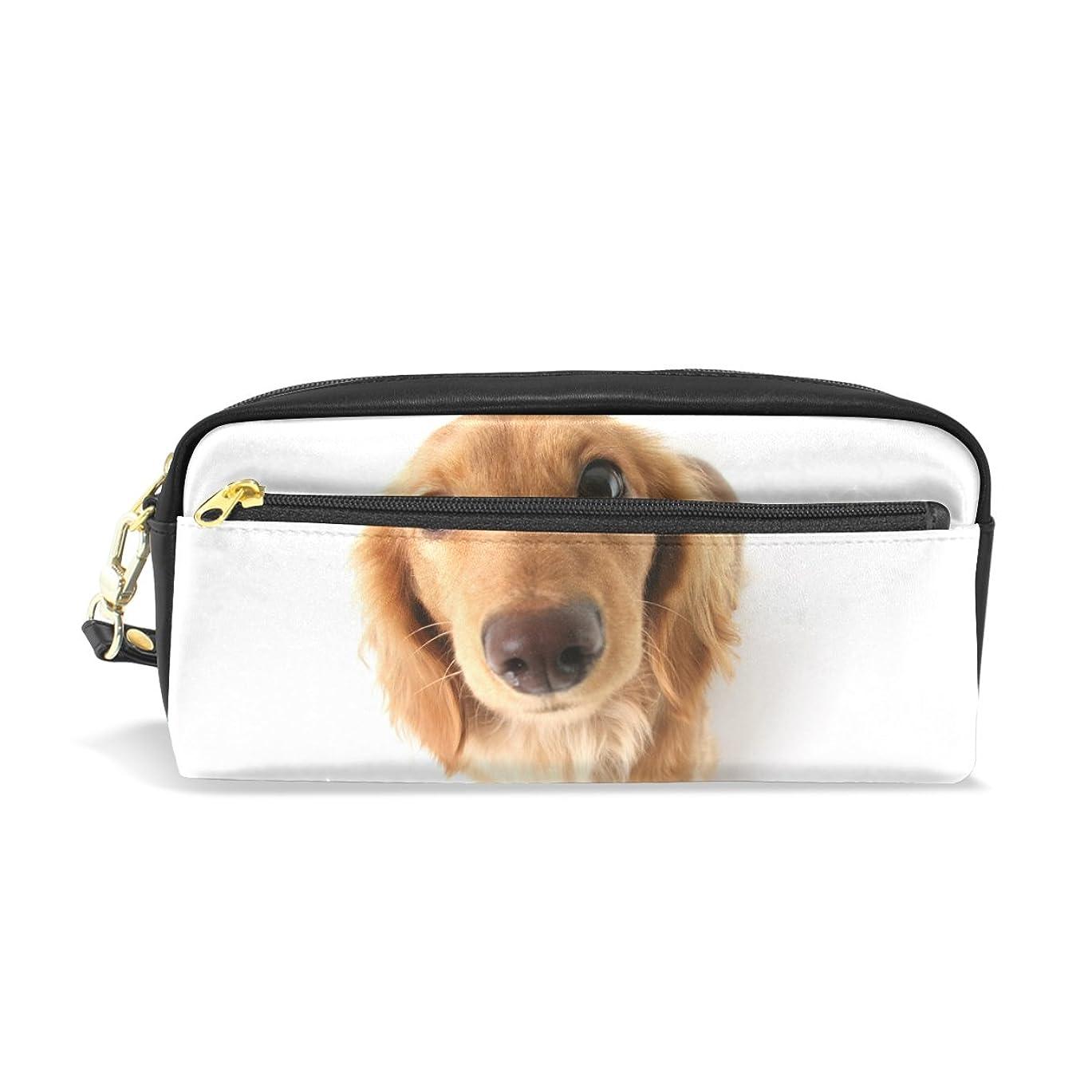 から何よりも周波数AOMOKI ペンケース ペンポーチ かわいい おしゃれ 化粧ポーチ 小物入り 多機能バッグ 男女兼用 プレゼント ギフト 犬柄 可愛い犬