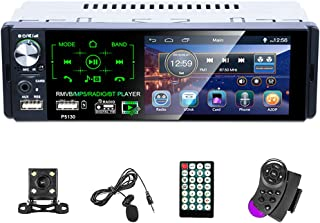 $58 » Sponsored Ad - Car Audio Receivers Single Din Bluetooth Car Stereo with 4.1 Inch LCD Touchscreen AM FM RDS/Dual USB/SD/AU...