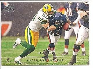 A. J. Hawk Green Bay Packers 2008 Upper Deck Football Card #72