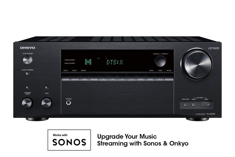 Onkyo TX NR787 Certified 9 2 Channel Receiver