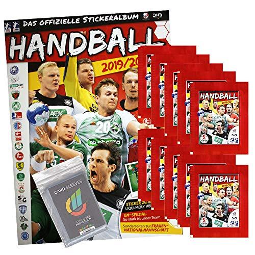 CAGO Handball Bundesliga 2019/20 Sammelsticker- 1 Album + 10 Tüten