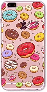 [REDshield] Apple iPhone 8/7/6S/6 Plus TPU Case, [Colorful Donuts] Slim & Flexible Anti-shock Crystal Silicone Protective TPU Gel Skin Case Cover