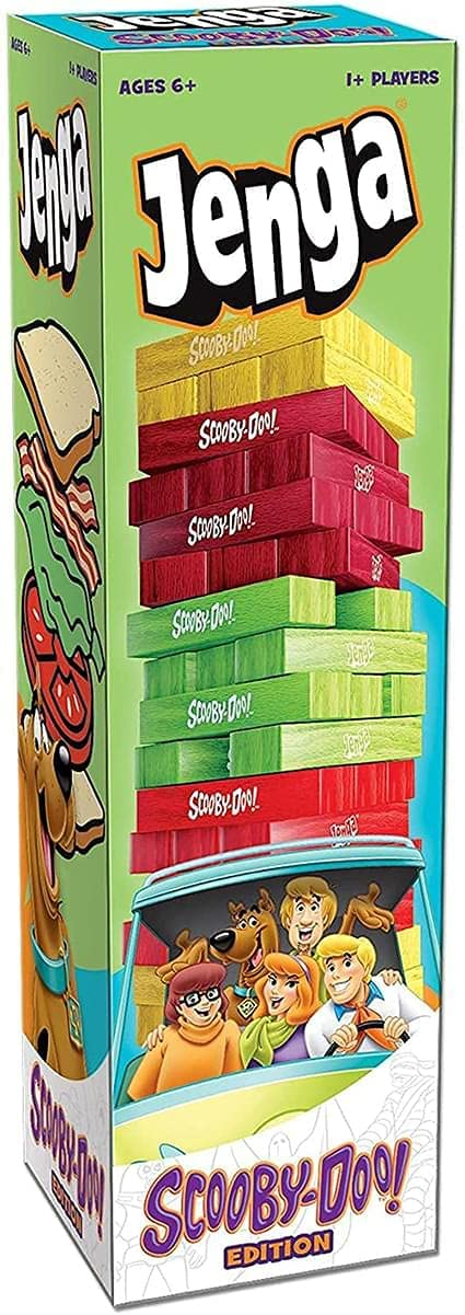 Jenga Scooby-Doo Edition Build The Shaggy Overseas parallel import regular item Max 51% OFF Tower for Sandwich