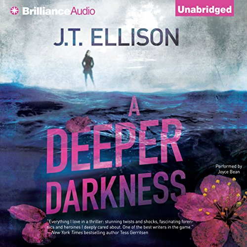 A Deeper Darkness audiobook cover art