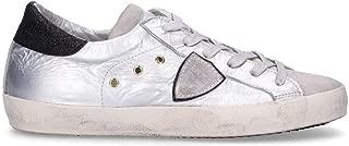 Philippe Model Luxury Fashion Womens CLLDMB10 Silver Sneakers | Fall Winter 19