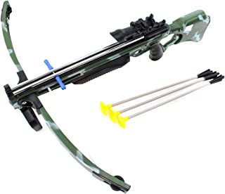 Deluxe Action Military Crossbow Set with Scope 30
