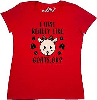 I Just Really Like Goats Ok Women's T-Shirt