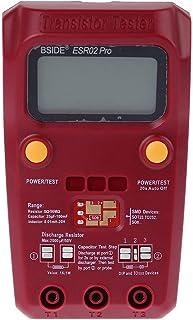 BSIDE ESR02PRO Digital Transistor Tester Multimeter, Capacitance Inductance Resistance LCR Meter SMD Components ESR Measur...