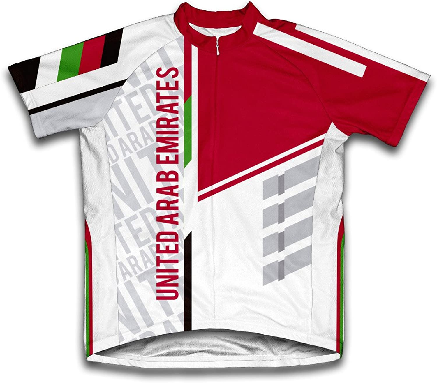 United Arab Emirates ScudoPro Short Sleeve Cycling Jersey for Men