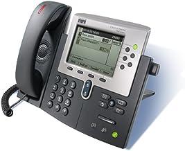 Cisco IP PHONE 7960G - Teléfono (2 MB, Ethernet network, LCD, 1.6 g, 266.7 x 152.4 x 203.2 mm, 48 VDC)