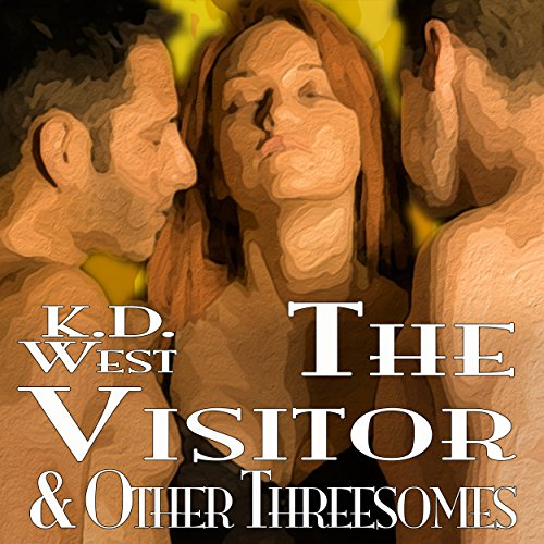 The Visitor & Other Threesomes audiobook cover art