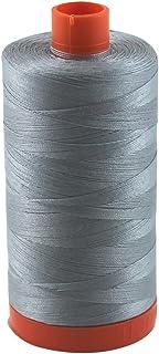 Aurifil Thread 2610 LIGHT BLUE GREY Cotton Mako 50wt Large Spool 1300m