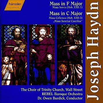 """Haydn: Mass No. 2 in F Major, """"Missa Brevis"""" / Mass No. 3 in C Major, """"Missa Cellensis"""""""