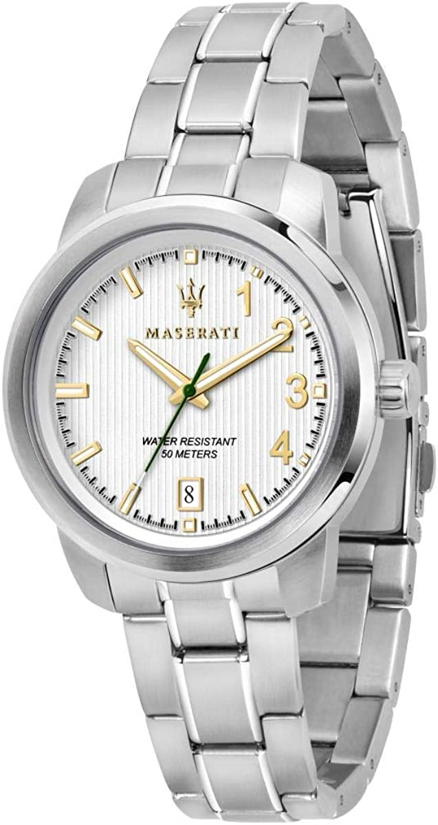 Reloj para Mujer, Colección Royale, Movimiento de Cuarzo, Solo Tiempo, con Fecha, en Acero - R8853137501