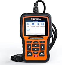 FOXWELL NT510 Elite OBD2 Bi-Directional Scan Tool for Honda Acura All System Diagnostics ABS SRS Transmission Battery Registeration Auto Bleed TPS SAS TPMS DPF EPB Oil Reset (Enhanced 2019 Version)