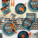 Hipster Birthday Party Supplies Kit, Serves 8
