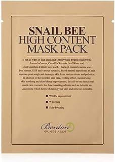 BENTON Masque Sérum Snail Bee High Content Mask Pack 20g