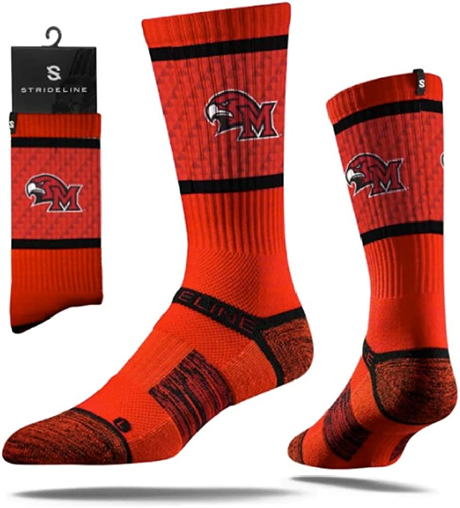 Miami of Ohio Redhawks Strideline Manufacturer regenerated product Red 2021 new Standard Calf Socks Youth