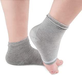 FEARIE Moisturizing Gel Heel Socks Sock Half Heel Four-Color SPA Socks