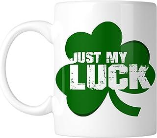 Just My Luck Shamrock 11 oz. Mug 11 oz White INKMUG_00041_1PK