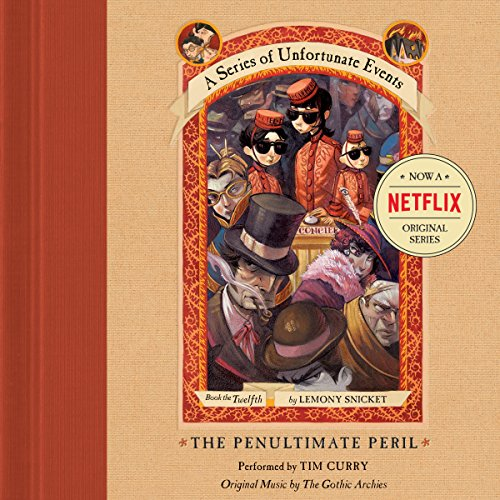 The Penultimate Peril audiobook cover art