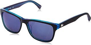 Lacoste Square Unisex Sunglasses - Blue Lens, L683S-002