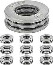 Dasunny 10Pcs 51102 Bearing, 15mm x 28mm x 9mm Single Direction Thrust Ball Bearings