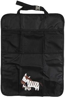 Niños Kick tapiz de asiento protector multi-bolsil 2 piezas de Multi-bolsillo del coche del almacenaje del bolso de Oxford del interior del coche de bebé anti tiro cubierta del cojín Almacenaje del re