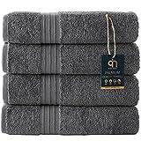 Best Luxury Bath Towels - Qute Home 4-Piece Bath Towels Set, Bosporus Collection Review