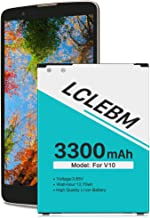LG Stylo 2 Battery, [Upgraded] LCLEBM 3300mAh Replacement Battery for LG Stylo 2 Plus, LS775,MS550,K550 LTE,BL-45B1F L81AL, V VS835 Spare Rechargeable Battery [12 Months Warranty]