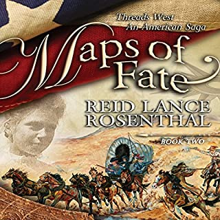 Maps of Fate     Threads West - An American Saga, Book 2              De :                                                                                                                                 Reid Lance Rosenthal                               Lu par :                                                                                                                                 Jack Bair                      Durée : 15 h et 23 min     Pas de notations     Global 0,0