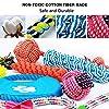 Parner Hundespielzeug, 12pcs Kauspielzeug Interaktives Spielzeug Baumwollknoten Spielset Seil Spielzeug für Kleine mittlere große