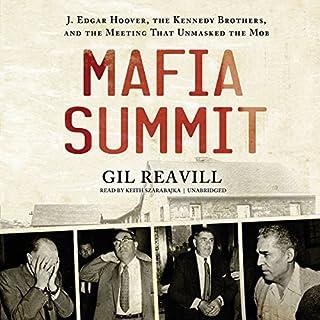 Mafia Summit audiobook cover art