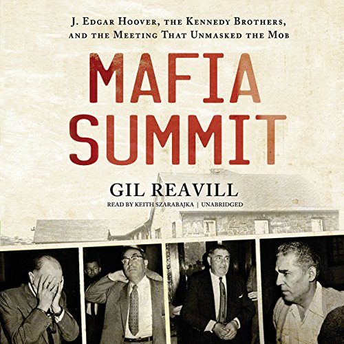 Mafia Summit audiobook cover art